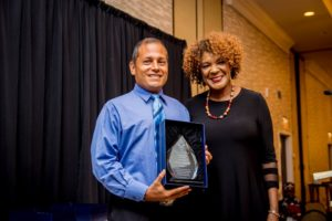 With REACH Diversity Awards Chairperson, Rose Cohen