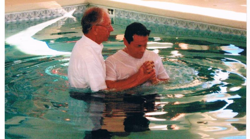 Event reminded me of my full immersion Baptism held Feb 10, 2008, days before a risky journalism assignment in Islamabad, Pakistan.