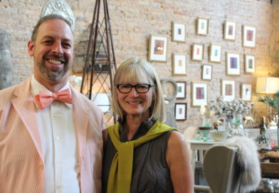 Artist Reception for Tyrus Clutter at Shannon Roth Collection