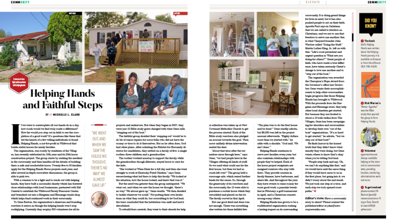 Helping Hands and Faithful Steps – Elevate Magazine